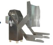 Подъёмник тележек на пищевом производстве