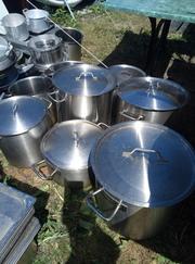Посуда,  кастрюли,  столовые приборы и многое другое для ресторанов